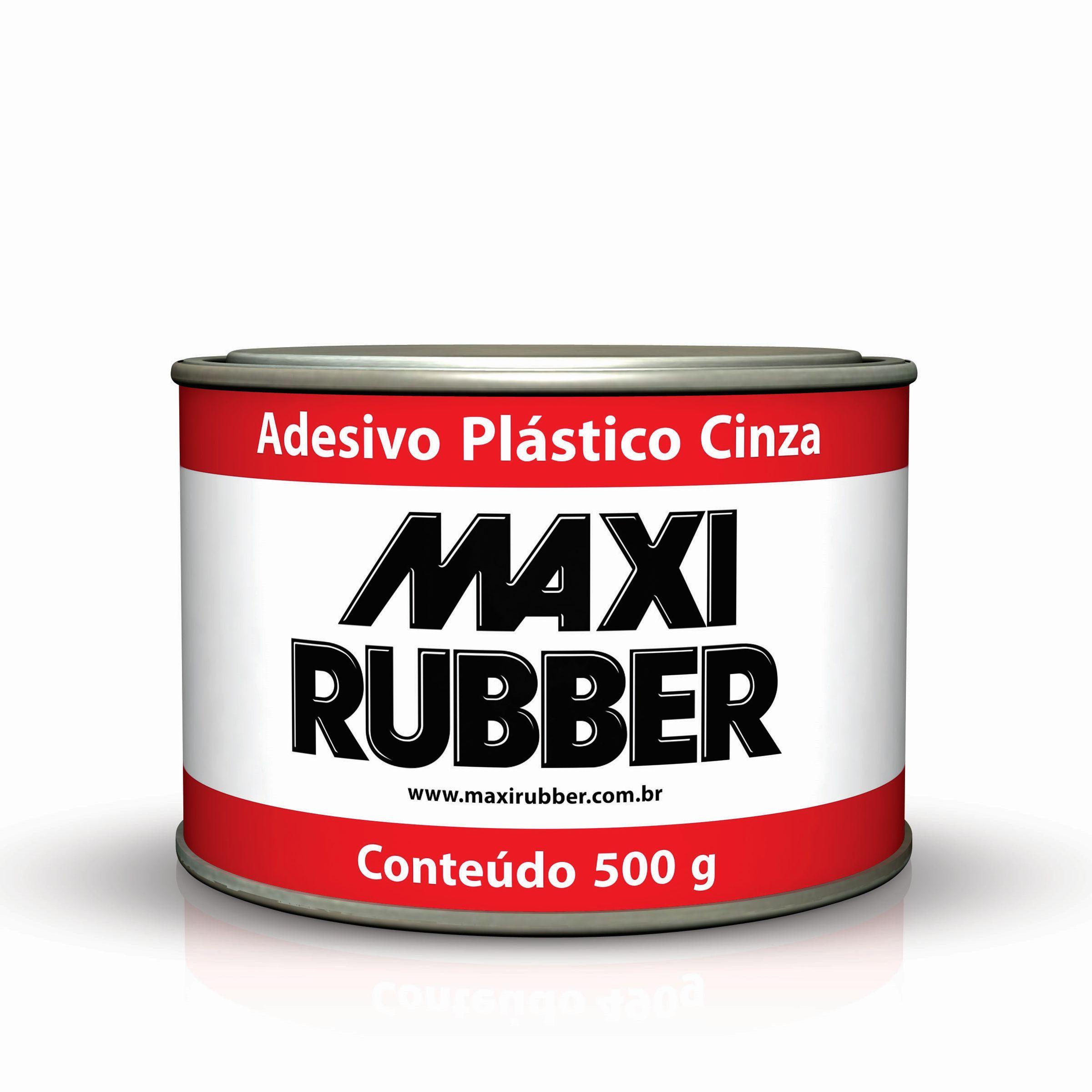 Adesivo Plástico Cinza