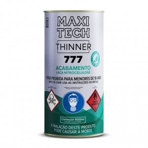 Thinner 777 Laca Acabamento - 900ml