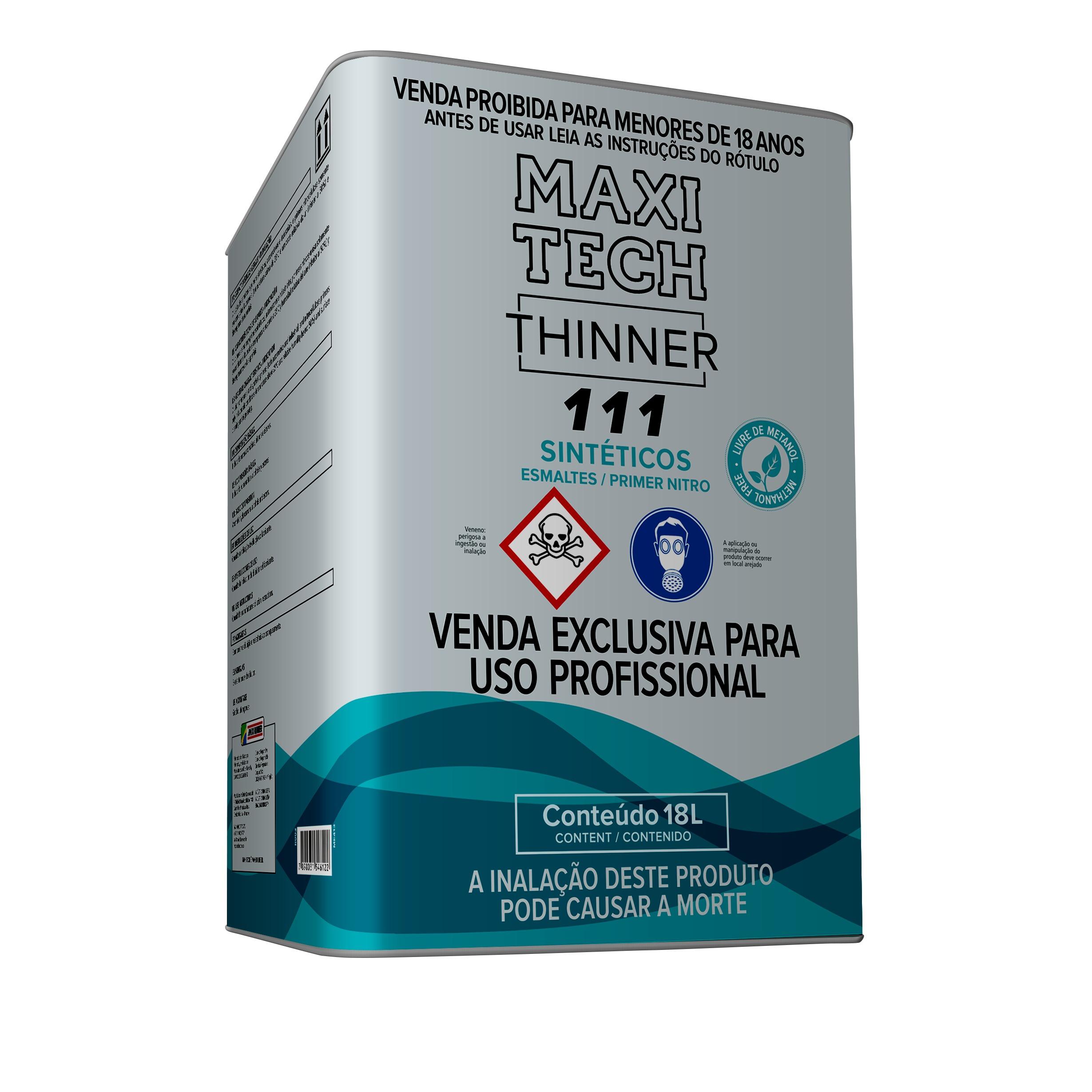 Thinner 111 - Sintético Primer Nitro - 18L